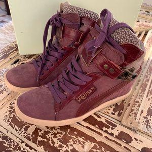 Alexander McQueen X Puma Joustesse Wedge Sneakers